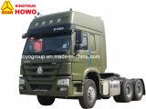 Camion d'entraîneur de pouvoir de la tête 6X4 d'entraîneur de Sinotruk HOWO 371HP