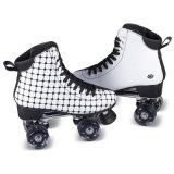 大人(QS-45)のための柔らかいブートのクォードのローラースケート