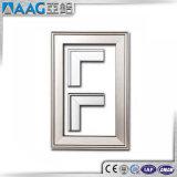 ¡Venta caliente de la fábrica! Perfil de aluminio para los marcos con diversificado lo más tarde posible