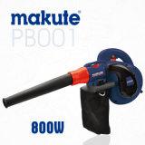 Воздуходувка листьев вакуума Makute 800W электрическая портативная