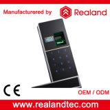 Fechamento de porta biométrico da liga do zinco de Realand com punho de porta (F2)
