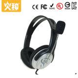 Herz-409 de comfortabele Draagbare StereoHoofdtelefoon van de Computer met Microfoon