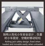 Подъем автомобиля столба гидровлического подъема 4