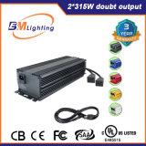 Crescer o reator eletrônico inteligente de baixa frequência da iluminação 630W Digitas