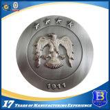 Античная серебряная монетка собрания металла с мягкой эмалью (Ele-C116)