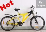 最も新しく贅沢で完全な中断6速度の電気マウンテンバイク浜Ebike