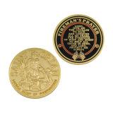 Pièce de monnaie militaire d'armée d'émail en gros en métal