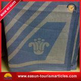 昇進の100%の卸売の綿によって編まれる投球毛布