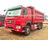 Caminhão de descarga de HOWO Sinotruk e caminhão de descarregador de 15-20 Cbm