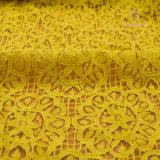 고전적인 레이스 직물 최신 뜨개질을 한 레이스 직물