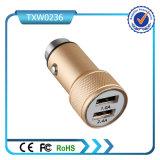 2017 고품질 알루미늄 합금 이동 전화 충전기 USB 차 충전기
