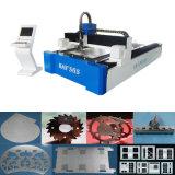machine de découpage de laser de fibre d'acier du carbone d'acier inoxydable de 500With1500W Wuhan