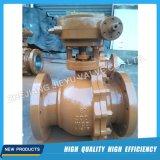 robinet à tournant sphérique 2PC industriel avec Wcb/CF8/CF8m