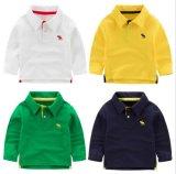 Colorido e de alta qualidade 100% algodão feito de camisa T e camisa infantil e camisa esportiva e camisa pólo para roupas e produtos promocionais