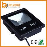 Светильник наивысшей мощности света потока освещения 20W СИД AC85-265V IP67 алюминиевый водоустойчивый напольный