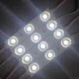 Muestras encendidas al aire libre accionadas por 1.08W LED Moduels