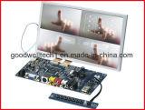 Toque módulo do LCD do frame aberto de 7 Digitas da polegada