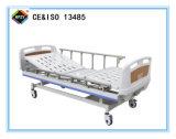 (A-60) het Beweegbare Bed van het Ziekenhuis van de dubbel-Functie Hand met ABS het Hoofd van het Bed