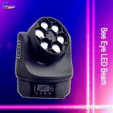 LED 디스코 사건 쇼를 위한 이동하는 맨 위 가벼운 꿀벌 눈 광속 빛