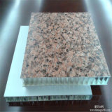 Panneau composé en aluminium ignifuge d'âme en nid d'abeilles de revêtement de mur extérieur, écrans antibruits (HR247)