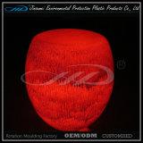 Cor recarregável da alta qualidade que muda o tamborete do diodo emissor de luz