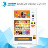 Bebida de gran capacidad y preservativo Máquina expendedora automática con medios