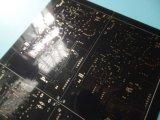 8 máscara negra negra de la soldadura del PWB 0.5oz del oro de la inmersión del circuito del PWB de la capa ninguna leyenda de seda