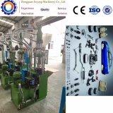 Macchina di plastica manuale dello stampaggio ad iniezione per adattarsi delle componenti elettroniche