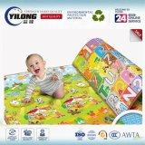 2017 couvre-tapis de rampement de mousse latérale simple d'escompte pour le bébé