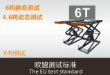Сбывания 3t фабрики Scissor подъем автомобиля с подъемом автомобиля аттестации Ce гидровлическим