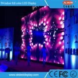 P4 riesige riesige Innenbildschirmanzeige des Bildschirm-LED für grosses Stadium