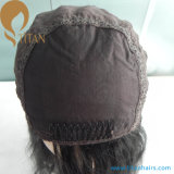 Peruca judaica desenhada dobro do cabelo do cabelo do Virgin de Mogolian
