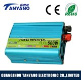 C.C d'inverseur modifié par 500watt d'onde sinusoïdale de 12V 110V/220V à l'inverseur 500W de pouvoir de véhicule à C.A.