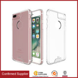 Crystal Clear Acrylic Back Panel e TPU Frame Protective Cover