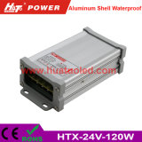 wasserdichte LED Stromversorgung des konstanten der Spannungs-24V-120W Aluminiumshell-