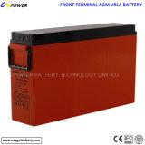 Bateria dianteira das telecomunicações 12V 105ah do AGM FT do terminal do acesso de VRLA