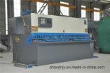 Вырезывания качания CNC QC12k 12*3200 машина гидровлического режа