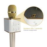 Microfone Q7 sem fio do karaoke KTV do altifalante de Bluetooth