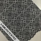 Tessuto di nylon del merletto del cotone elegante di disegno