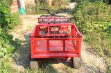 Exploração agrícola grande vermelha ATV do armazenamento para o miúdo dos adultos