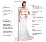 Sleeveless Brautballkleid-Organza-Spitze-Hochzeits-Kleider L9044
