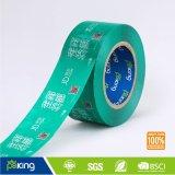 Band van de Verpakking van het embleem BOPP de Zelfklevende Afgedrukte