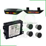 Sensor de estacionamento com display LED Instalação de três posições
