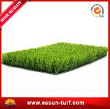 Gazon en plastique de synthétique d'herbe de balcon d'horizontal de jardin