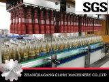 Máquina automática da caixa/embalagem do caso para frascos do vidro ou do animal de estimação