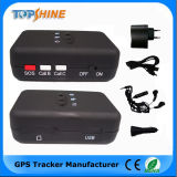 Mini persönlicher 3 PAS-Tasten-bidirektionaler Standort GPS-Verfolger