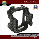 CNC di abitudine che lavora lavorare alla macchina di alluminio di CNC dell'alloggiamento della strumentazione fotografica