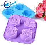 4 инструмента выпечки Rose силикона решеток