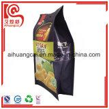 Bolsos laterales del escudete para el empaquetado de las virutas de la fruta