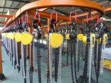 Équipement de levage manuel 7,5 tonnes / 10 tonnes de bloc de chaînes